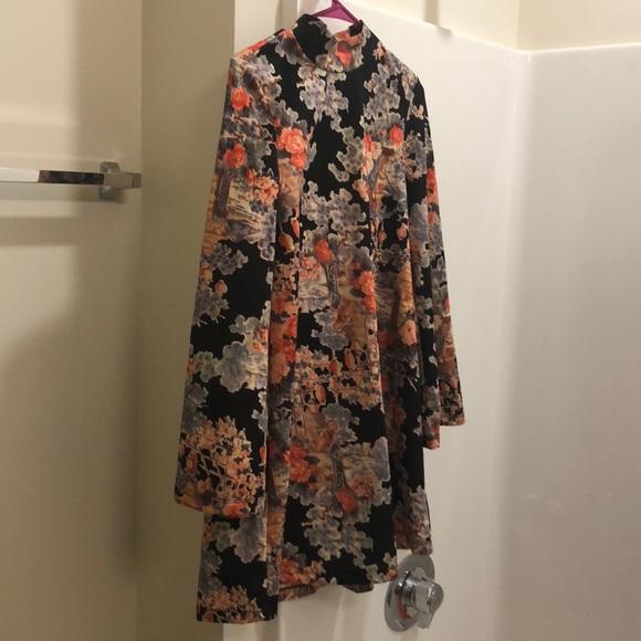 Asian print dresses pic 201